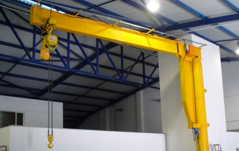 Jib Crane Testing : On promotion the jib crane fb cranes